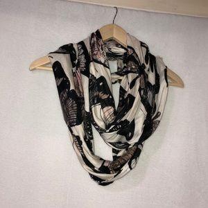 Beautiful woman dress scarf